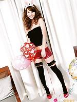 Nozomi Sasaki Asian is naughty bunny always looking for some fun